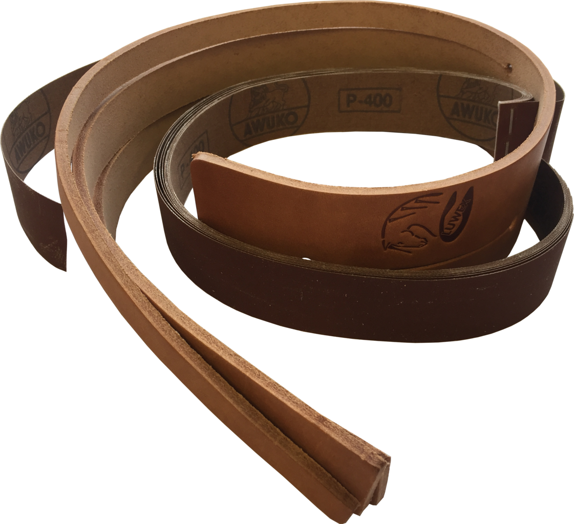 luwex flexschleifer lederband und 10 schleifstreifen. Black Bedroom Furniture Sets. Home Design Ideas